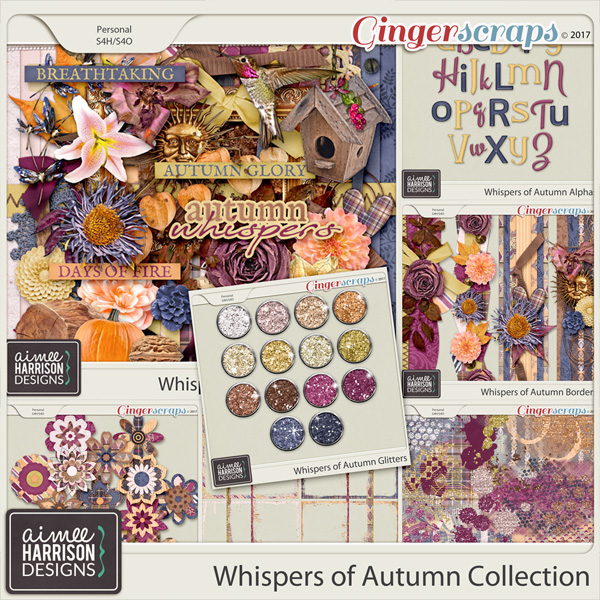 Whispers of Autumn Collection by Aimee Harrison