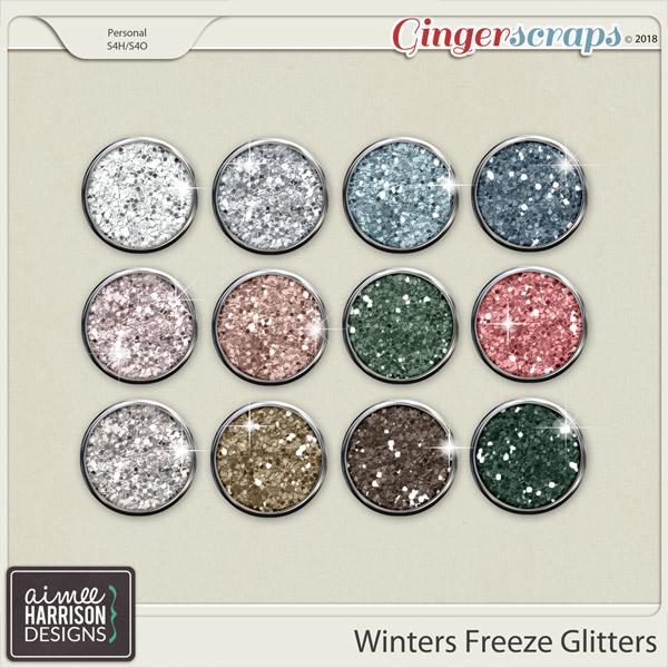 Winters Freeze Glitters by Aimee Harrison