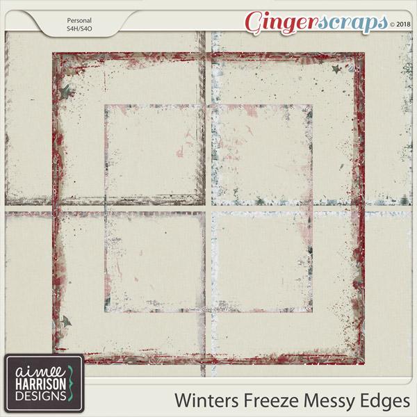 Winters Freeze Messy Edges by Aimee Harrison