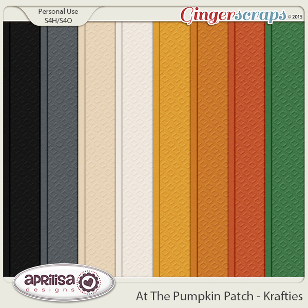 At The Pumpkin Patch - Krafties by Aprilisa Designs