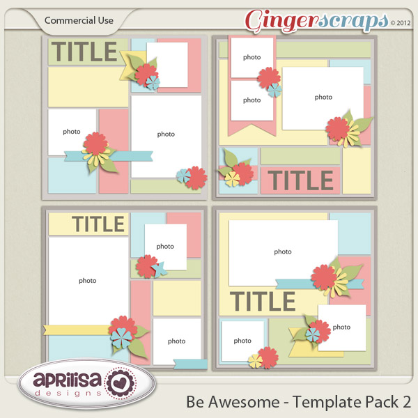 Be Awesome - Template Pack 2