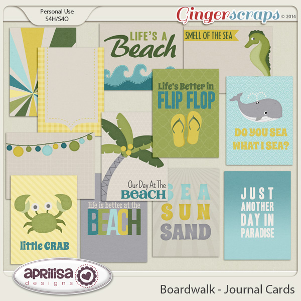 Boardwalk - Journal Cards