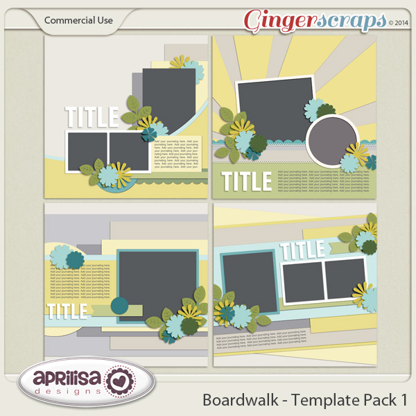 Boardwalk - Template Pack 1