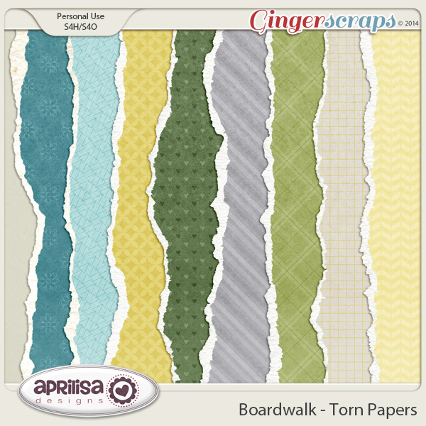 Boardwalk - Torn Papers