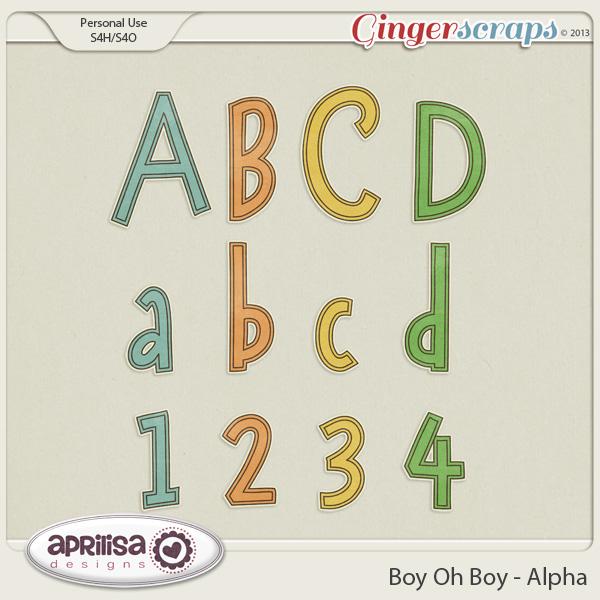 Boy Oh Boy  - Alpha