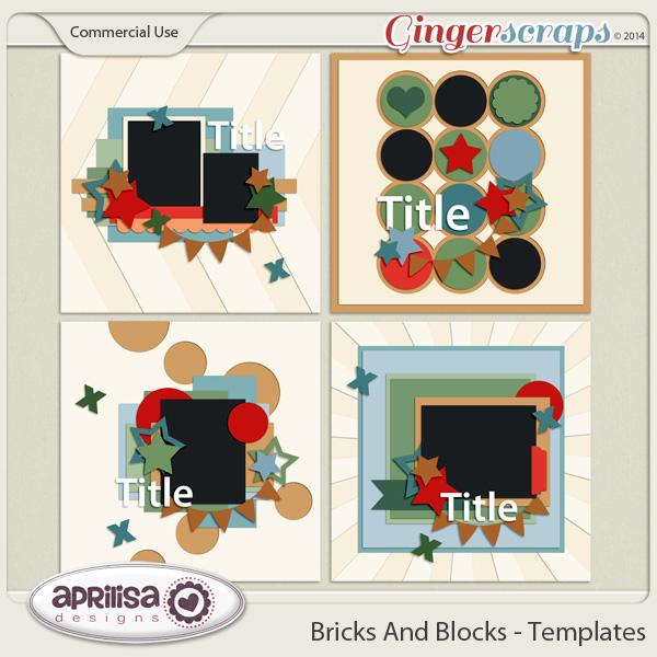 Bricks And Blocks Template Pack