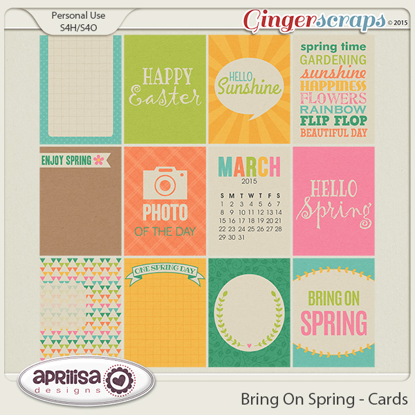 Bring On Spring - Cards