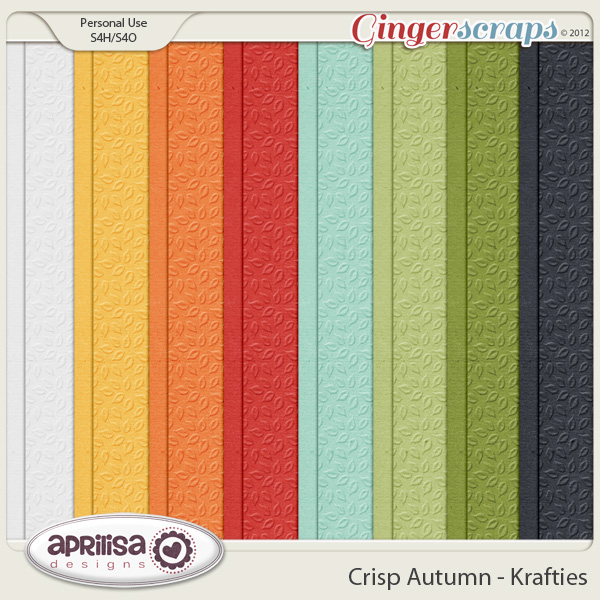 Crisp Autumn Krafties by Aprilisa Designs