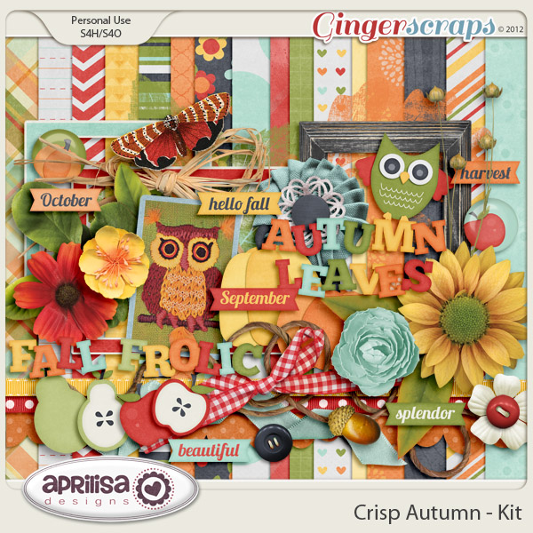 Crisp Autumn Kit by Aprilisa Designs