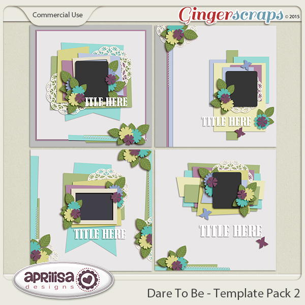 Dare To Be - Template Pack 2