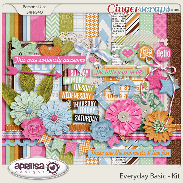 Everyday Basic - Kit by Aprilisa Designs