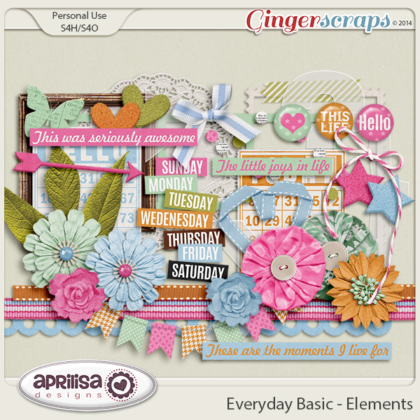 Everyday Basic - Elements by Aprilisa Designs