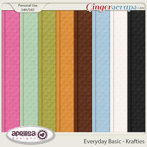 Everyday Basic - Krafties by Aprilisa Designs