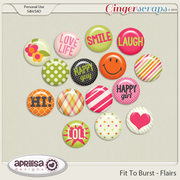 Fit To Burst - Flairs