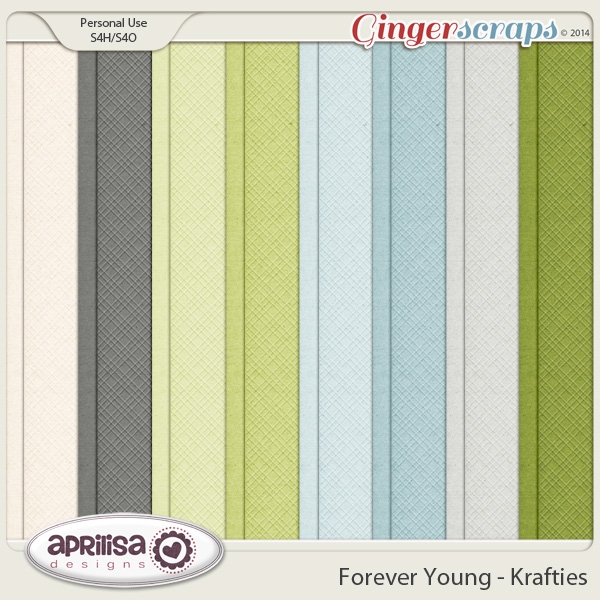Forever Young Krafties by Aprilisa Designs
