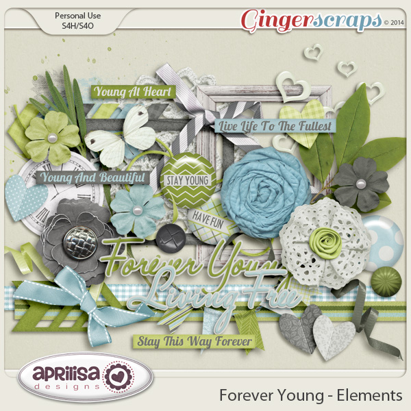 Forever Young Elements by Aprilisa Designs