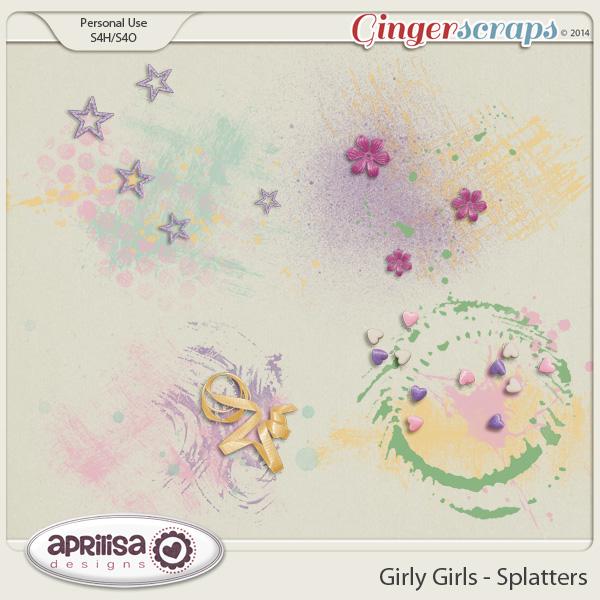 Girly Girls - Splatters