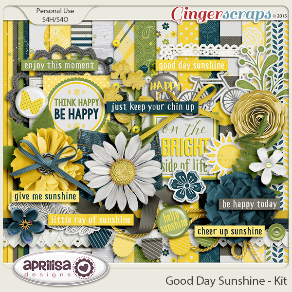 Good Day Sunshine - Kit by Aprilisa Designs