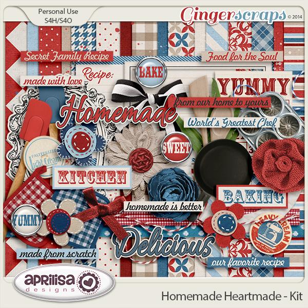 Homemade Heartmade - Kit by Aprilisa Designs