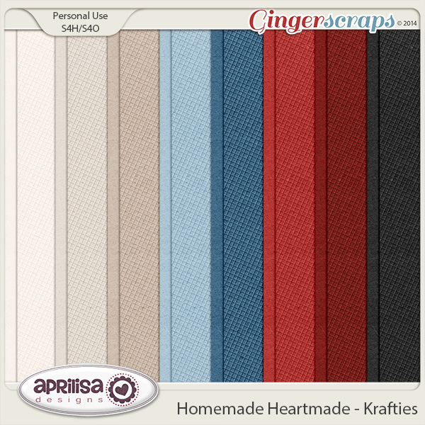Homemade Heartmade - Krafties by Aprilisa Designs