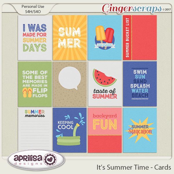 It's Summer Time - Cards