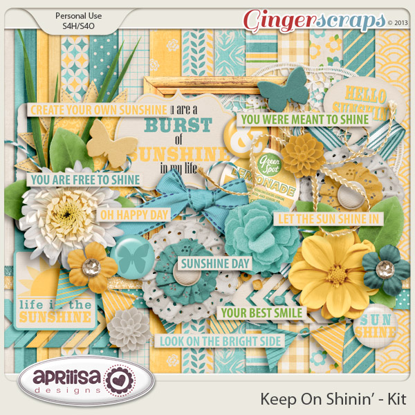 Keep On Shinin' Kit by Aprilisa Designs