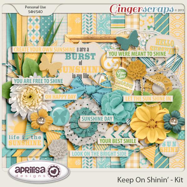 Keep On Shinin' Kit by Aprilisa Designs