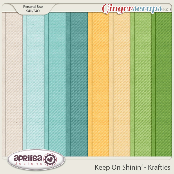 Keep On Shinin' Krafties by Aprilisa Designs