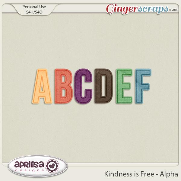 Kindness Is Free - Alpha