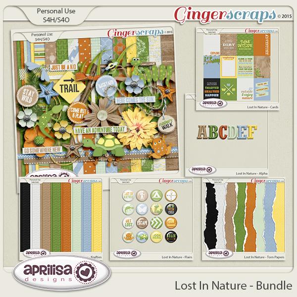 Lost In Nature - Bundle by Aprilisa Designs