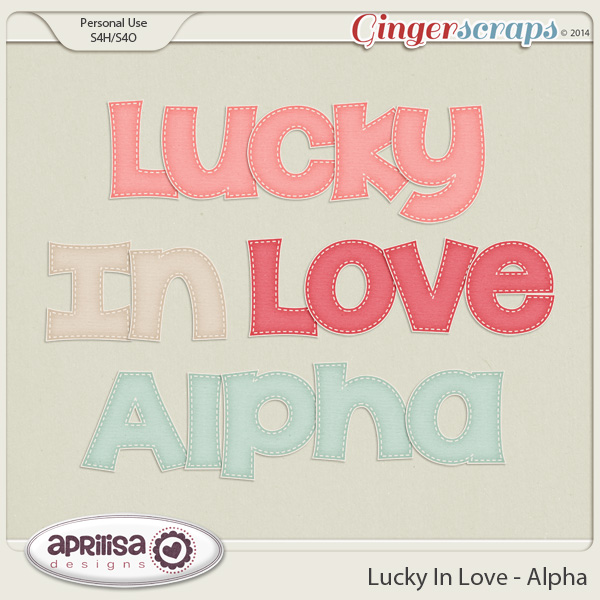 Lucky In Love - Alpha by Aprilisa Designs