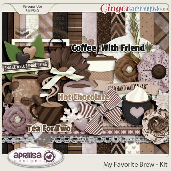 My Favorite Brew Kit by Aprilisa Designs