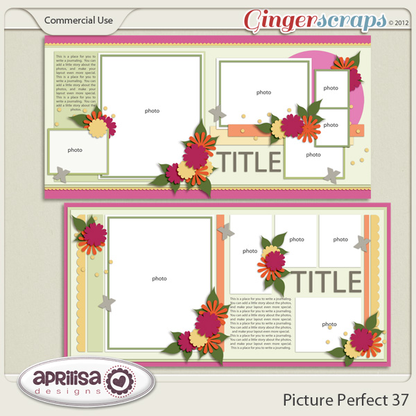Picture Perfect 37 - Double Pages