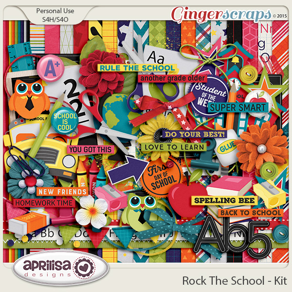Rock The School - Kit by Aprilisa Designs