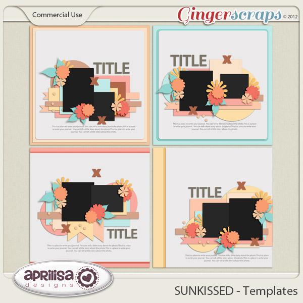 SUNKISSED Templates by Aprilisa Designs