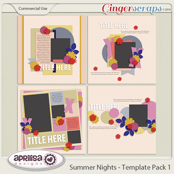 Summer Nights - Template Pack 1