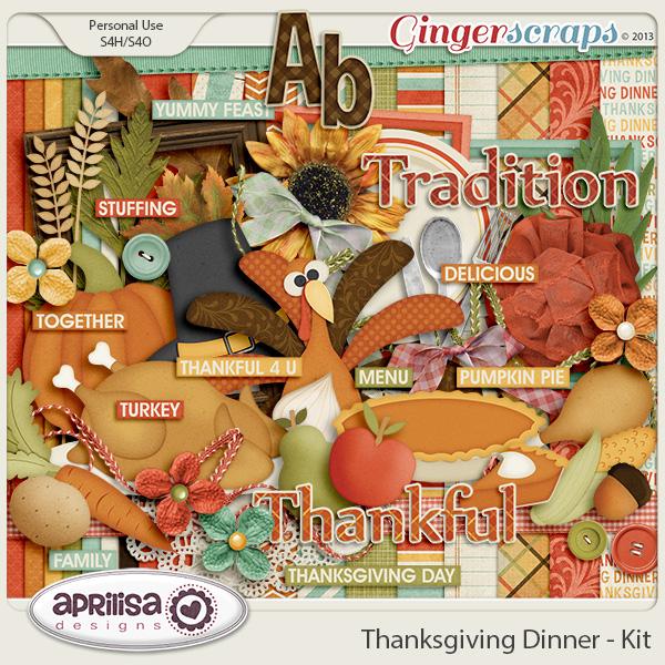 Thanksgiving Dinner - Kit