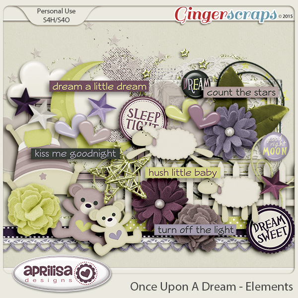 Once Upon A Dream - Elements by Aprilisa Designs