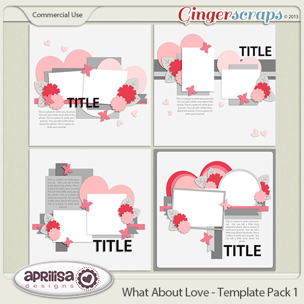 What About Love - Template Pack 1