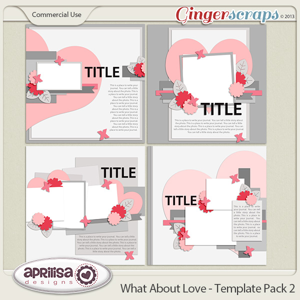 What About Love - Template Pack 2