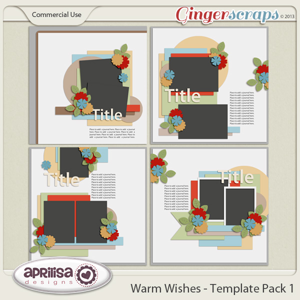 Warm Wishes - Template Pack 1