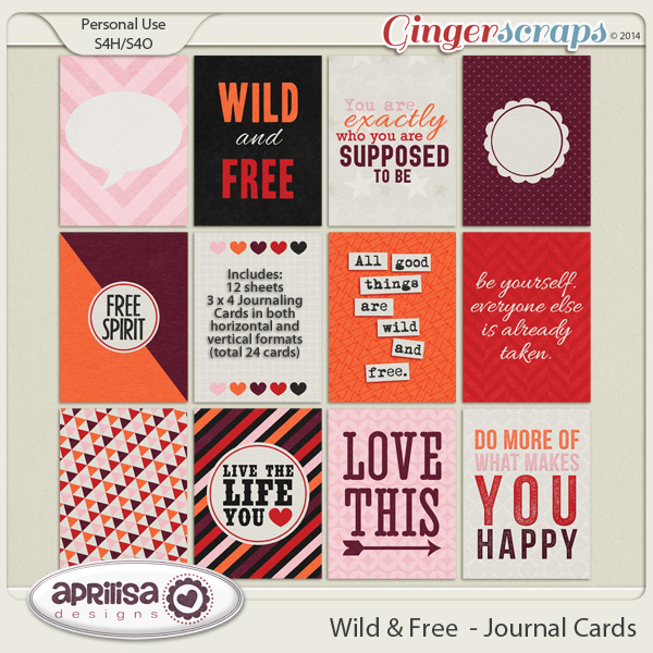 Wild & Free Journal Cards