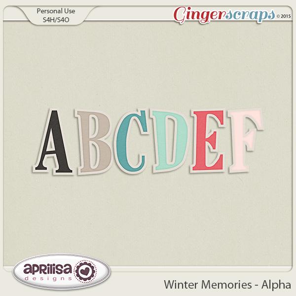 Winter Memories - Alpha by Aprilisa Designs