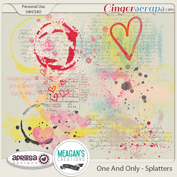 One And Only - Paint Splatters