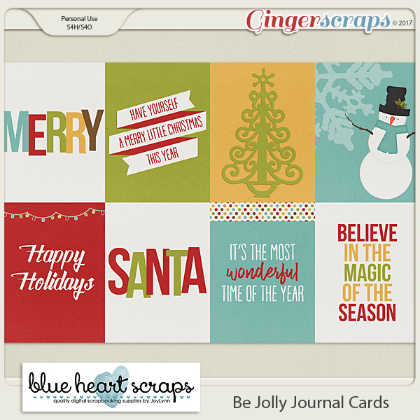 Be Jolly Journal Card Pack