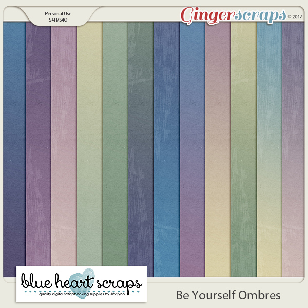 Be Yourself Ombre Papers