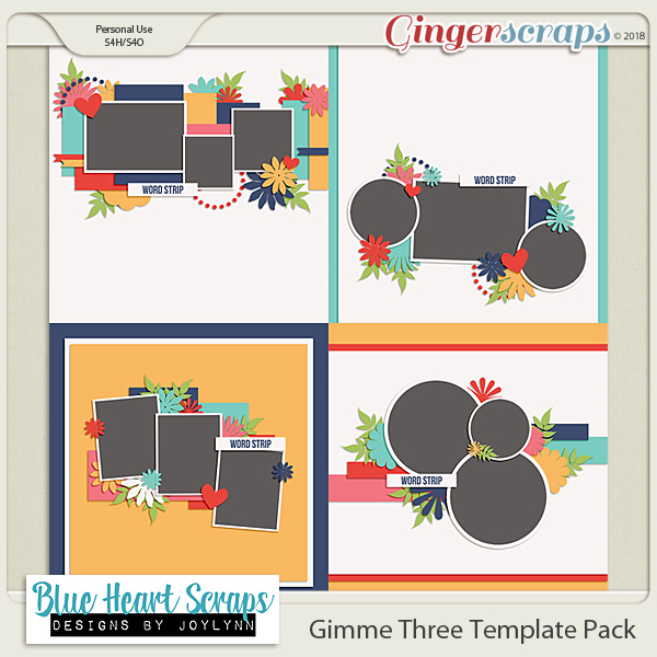 Gimme 3 Template Pack