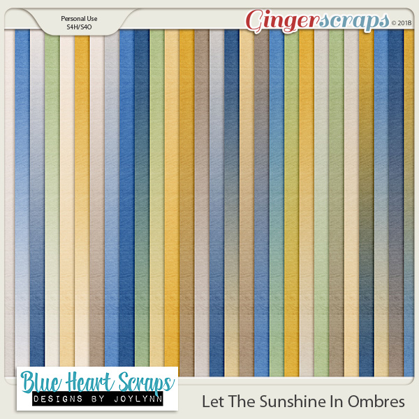 Let The Sunshine In Ombres