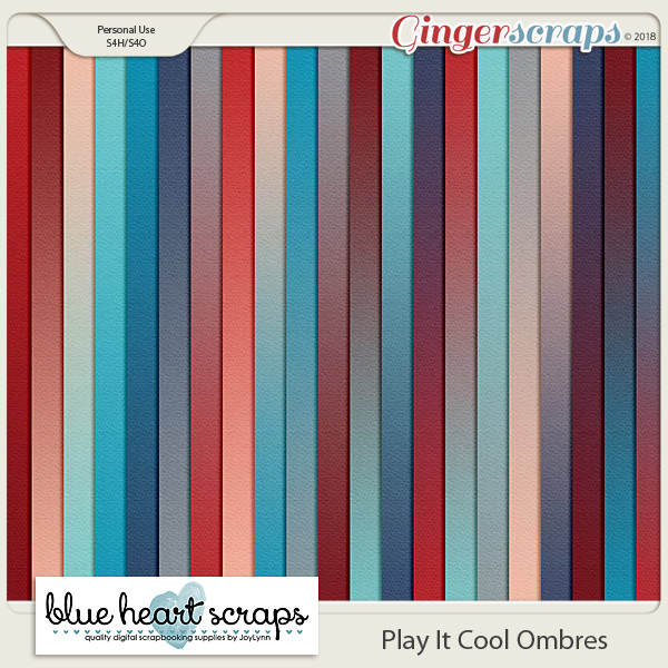 Play It Cool Ombre Paper Pack