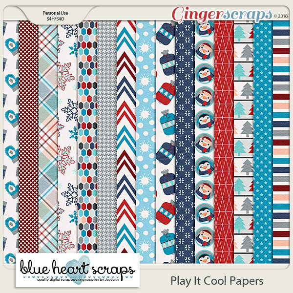 Play It Cool Paper Pack